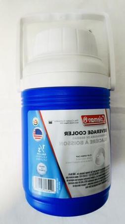 Coleman 1/3 Gallon Jug Blue Water Cooler Beverage Cooler Cam