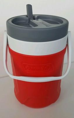 Coleman 1 Gal Jug Cooler Water Ice Chest Faucet Drink Thermo