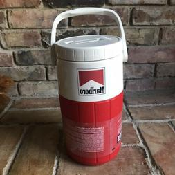 1 NEW COLEMAN Water Cooler Marlboro Promo Wide Mouth Flip Sp
