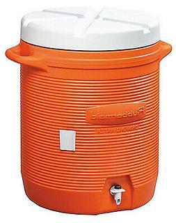 RUBBERMAID INC 10-Gallon Orange Water Cooler 161001 11