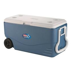 Coleman 100-Quart Xtreme 5-Day Heavy-Duty Cooler with Wheel