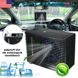 12V Portable Car Air Conditioner Home Evaporative Water Cool