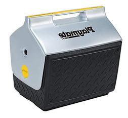 Igloo 14.8 Quart Playmate Cooler with Industrial Diamond Pla