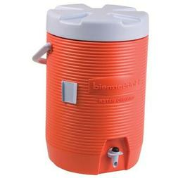 Rubbermaid 1683 Water Cooler - 3 Gallon - Orange NEW