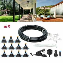 30FT Outdoor Patio Water Mister Mist Nozzles Misting Cooling