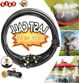 19.7FT Outdoor Patio Water Mister Mist Nozzles Misting Cooli