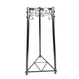 "32"" 2 Step All Metal Stand - Dust Gray/Black - Ceramic/Porce"
