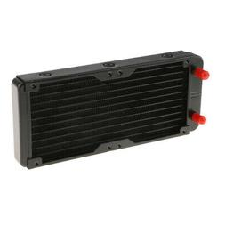 240mm 10 Tubes Alloy PC Computer Radiator Water Cooler For L