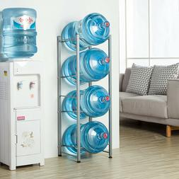 3/4 Layers Water Cooler Jug Rack 5 Gallon Water Bottle Stora