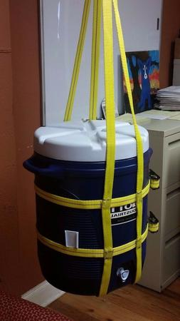 Trident Supply 3, 5 & 10 Gallon Water Cooler Lifting Sling /