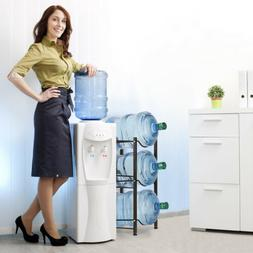 3-Tier Water Cooler Jug Rack Water Bottle Rack Storage Hold