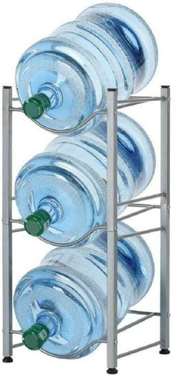 LIANTRAL 3Tier Water Cooler Jug Rack 5 Gallon Water Bottle S