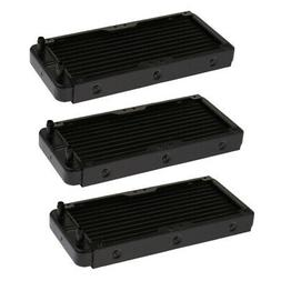 3x Water Cooler Radiator 240mm Heatsink For CPU Water Coolin