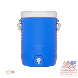 Coleman 5-Gallon Beverage Cooler Blue
