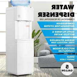 5 Gallon Desktop Electric Hot/Cold Water Cooler Dispenser Ch