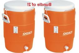 5-Gallon Heavy Duty Beverage Sports Outdoor Work Party Water