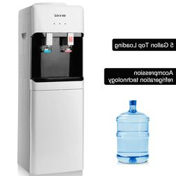 5 Gallon Hot/Cold Top Loading Water Cooler Dispenser Electri