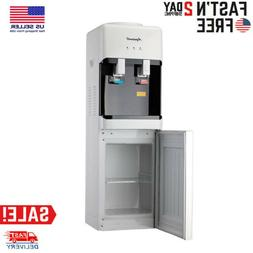 5 Gallon Top Loading Electric Freestanding Hot / Cold Water