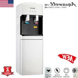 5 Gallon Top Loading Hot Cold Water Cooler Dispenser Stainle