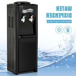 5 Gallon Top Loading Stainless Steel Water Cooler Dispenser
