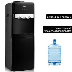 top loading water cooler dispenser hot cold