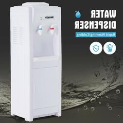 5 Gallon Top Loading Water Cooler Dispenser Electric Hot&Col