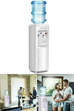 5 Gallon Water Dispenser Bottle Top Loading Cooler Hot & Col