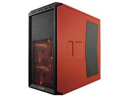Corsair Graphite Series 230T Side Panel Window with Orange L