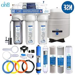 Five Stage Reverse Osmosis Filtration Systems for Water Disp