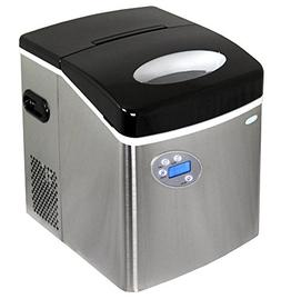 NewAir AI-215SS | Portable, Countertop Ice Maker | 50 Lbs |