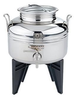 Sansone Stainless Steel Fusti Water Cooler, Silver