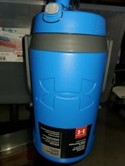 Under Armour Sideline 64 Ounce Water Bottle, Blue Jet