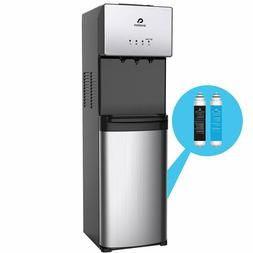 Self Cleaning Bottleless Water Cooler Dispenser, Stainles fi