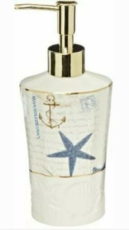 Avanti Linens Antigua Lotion Pump Dispenser ~ Fast Free Ship