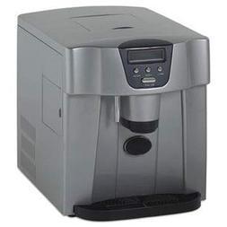 Avanti Countertop Icemaker/Water Dispenser, Silver, 12 1/4 X