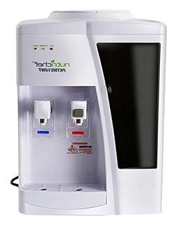 NutriChef AZPKTWC10WT Dispenser Hot & Cold Water Cooler, 13