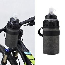 Bicycle Water Bottle Holder Pouch Bike Insulated Cooler Head