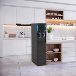Black Slim Drinkpod Pro Bottleless Filtered Water Cooler Dis