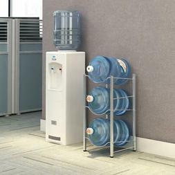 Bottle Storage 3-Tier Water Cooler Jug Rack Water Rack Detac