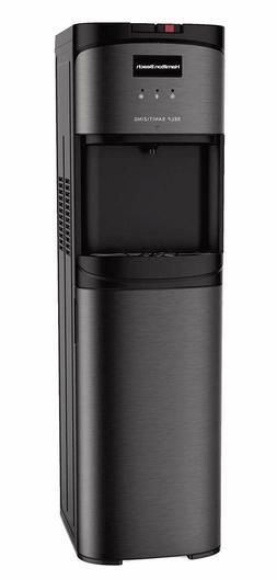Bottom Load Water Cooler Dispenser Hot Cold Safety Lock Self