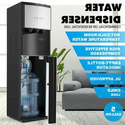 bottom loading water cooler dispenser stainless steel