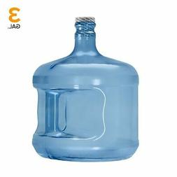 3 Gallon BPA FREE Plastic Reusable Water Bottle Container Ju