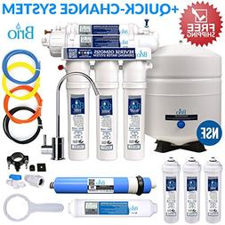 Brio & Magic Mountain Five Stage Reverse Osmosis Filtration