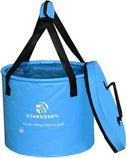 Freegrace Premium Compact Collapsible Bucket Portable Foldin