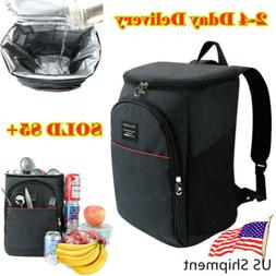 20L Cooler Bag Insulated Travel Ice Picnic Keep Warm Lunch C