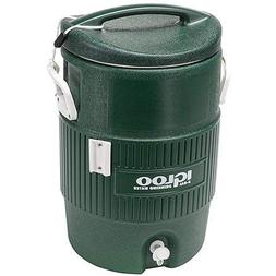 Igloo 5-Gallon Cooler, Green with 50 Cups