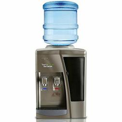 Nutrichef Countertop Water Cooler Dispenser - Hot & Cold Wat