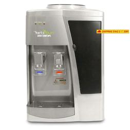Nutrichef Countertop Water Cooler Dispenser - Hot  Cold Wate
