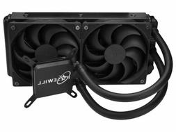 Rosewill CPU Liquid Cooler, Closed Loop PC Water Cooling, Qu