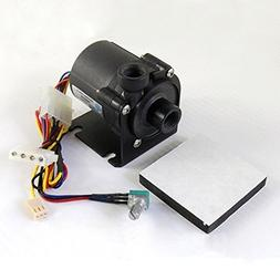 Glowry® DC 12V G1/4 SPEED CONTROL PUMP BRUSHLESS MOTOR FOR